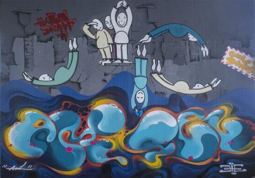 Graffiti freie Arbeit 5