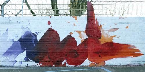 Graffiti freie Arbeit 8