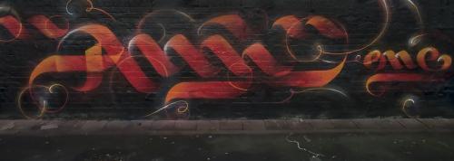 Graffiti freie Arbeit 9