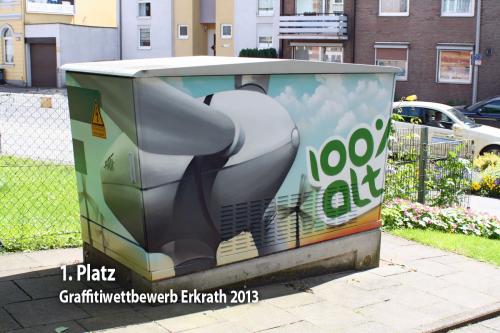 Erkrather Graffitiwettbewerb